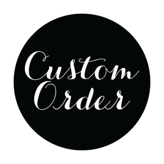 Custom order 8x12 format