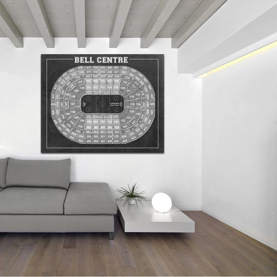 Print of Vintage Bell Centre Seating Chart on Your Choice of Photo Paper, Matte Paper, or Stretched Canvas