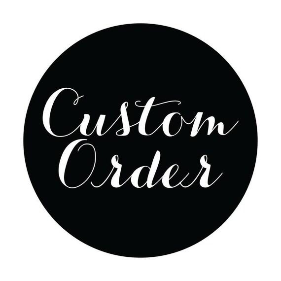 Custom order 12x12 formt