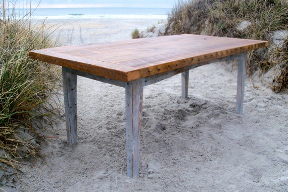 Farm Table Reclaimed Wood Table Harvest Table Barn Wood | Etsy