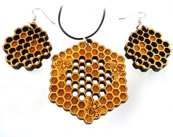 Wooden Jewelry Sets