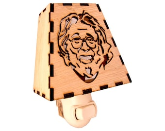 Jerry Garcia Night Light - Grateful Dead - Nightlight