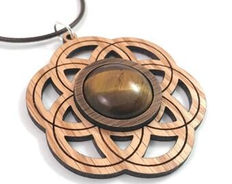 Wood & Gemstone Jewelry