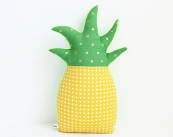 Pineapple pillow, tropical nursery decor, tropical decor, pineapple decor, dorm decor, nursery decor, pineapple nursery, baby shower gift
