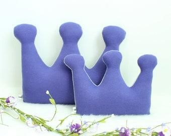 Crown pillow, crown cushion, kids room decor, girls room decor, purple nursery decor, crown nursery decor, princess room decor, baby gift