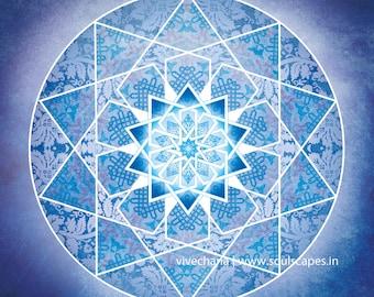 Mystical Journey Mandala
