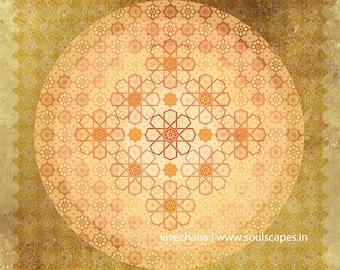 Harmonic Tessellations Mandala