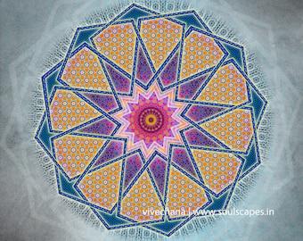 Unfolding Worlds Mandala