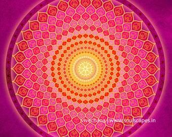 Compassionate Heart Mandala