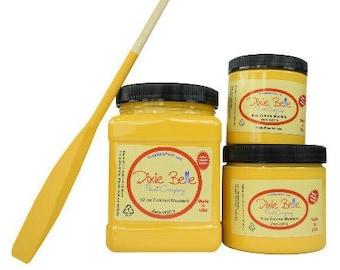 Dixie Belle Colonel Mustard Yellow Chalk Mineral Paint DIY Paint, Furniture Paint, Cabinet Paint, Craft Paint, Paint Parties, Stencil Paint