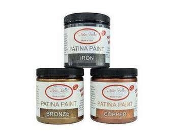Dixie Belle Patina Paint Iron Copper Bronze 8 oz