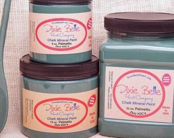 Dixie Belle Palmetto Green Chalk Mineral Dark Green Paint, Furniture Paint, Cabinet Paint, Craft Paint, Paint Parties, Stencil Paint