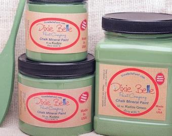 Dixie Belle Kudzu Green Chalk Mineral Paint DIY Paint, Furniture Paint, Cabinet Paint, Craft Paint, Paint Parties, Stencil Paint
