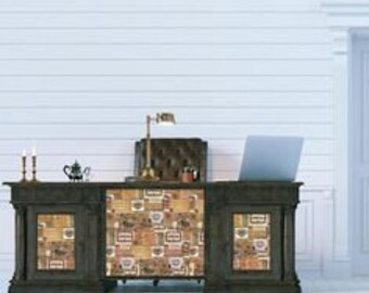 Furniture Decal - Vintage Cigar Box Transfer by ReDesign with Prima