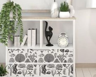 Furniture Decal - Coastal Sea Life Transfer by ReDesign with Prima
