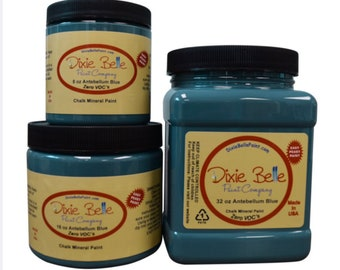Dixie Belle Antebellum Blue Chalk Mineral Dark Teal Paint, Furniture Paint, Cabinet Paint, Craft Paint, Paint Parties, Stencil Paint