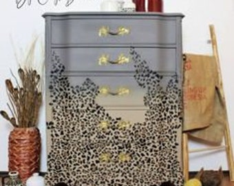 Furniture Decal - CHEETAH Transfer by ReDesign with Prima