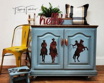 Furniture Decal - Rodeo Transfer by ReDesign with Prima