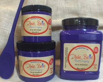 Dixie Belle Amethyst Chalk Mineral  Purple Paint, Furniture Paint, Cabinet Paint, Craft Paint, Paint Parties, Stencil Paint