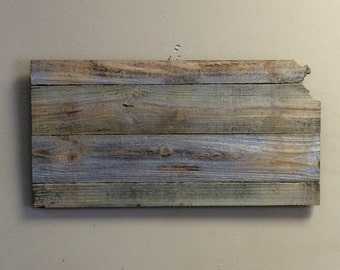 "Kansas Wood Sign Hanger 20"" x 10 1/4"" Options to Personalize"