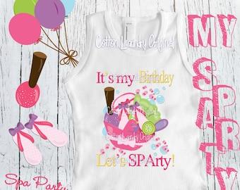 f3eaacd5e6 Spa birthday shirt
