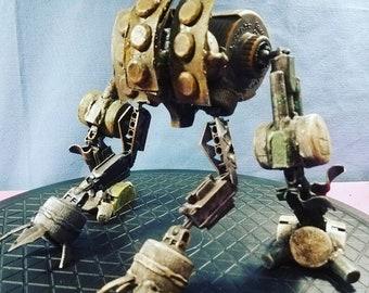 Assemblage bi-pod armored droid