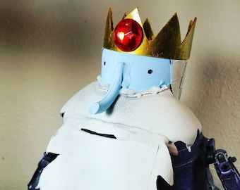 Deluxe assemblage robot ice king