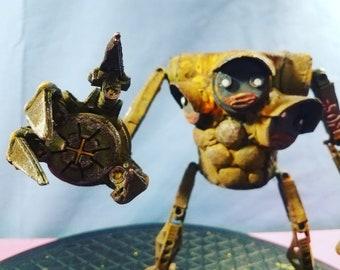 Assemblage Valerobot tri-polar droid