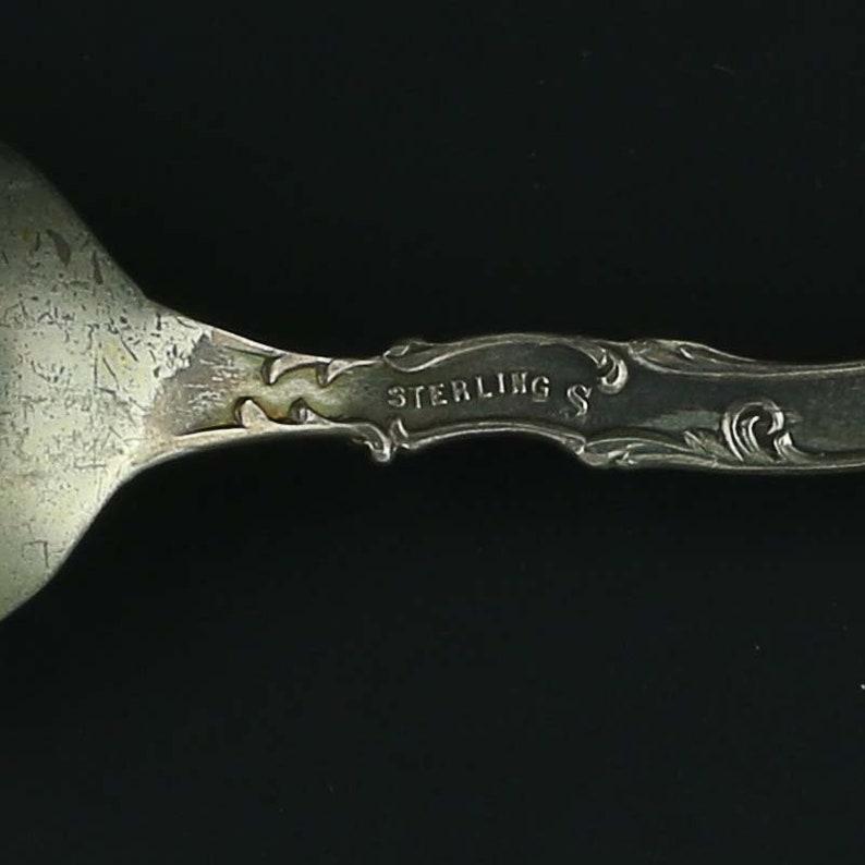 TN Souvenir Spoon Sterling Silver Travel Collectible Shepard Mfg Memphis Co