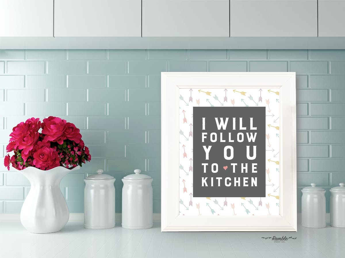 VACAY SALE Kitchen Quote Art Kitchen Decor Wall Art Print | Etsy