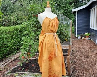 Shae Sunset - Antiquity style dress - one size fits all - Tie Dye Soft Cotton - LARP . Festival . Wedding . Summer . burning man