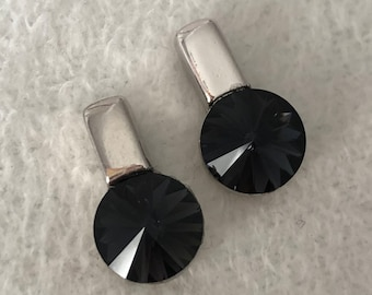 Swarovski Rivoli Crystal Stud Earrings