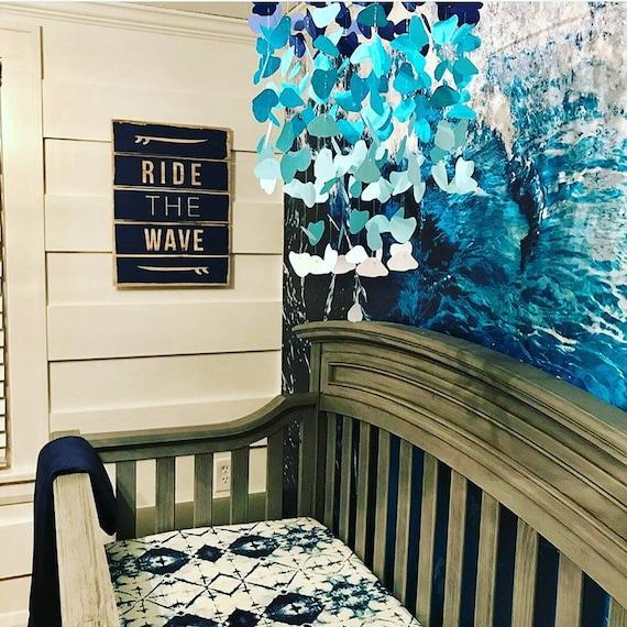 Ocean Crib Bedding Nursery, Tie Dye Nursery Bedding