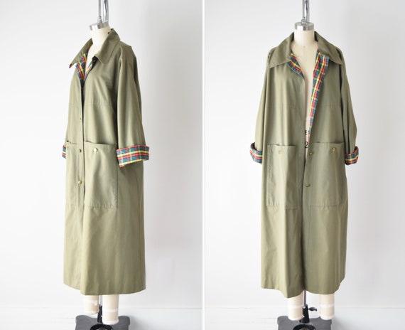 70s Bonnie Cashin Trench/ Bonnie Cashin Raincoat /