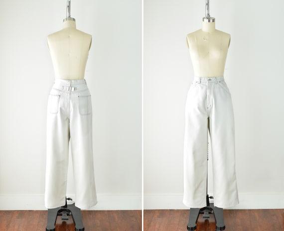 Bone White Carpenter Pants 31W / 31 Inch Waist / H