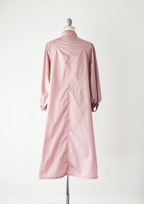 Dusty Rose Trench Coat Sm / Pink Trench Coat / Be… - image 6