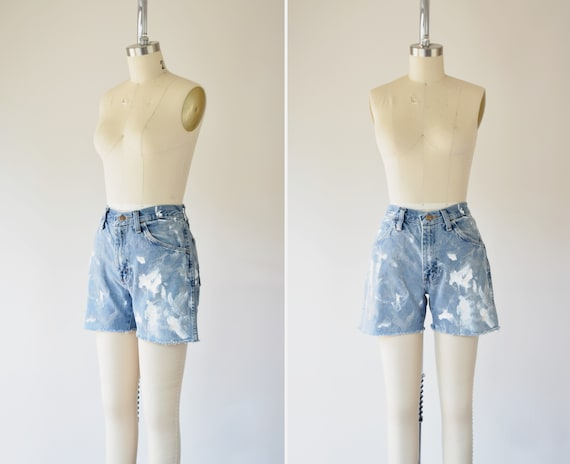 Paint Splatter Shorts M / 29 in Waist / Cutt Off J