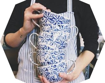 Large latte mug/ soup bowl/ tea mug/artetmanufacture