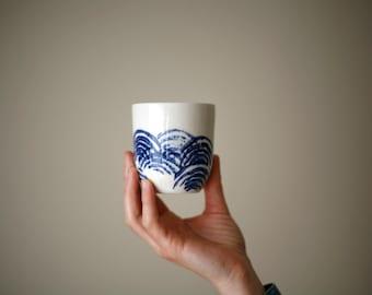 Petit café / Small coffee/ blue wave