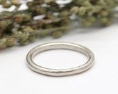 9ct white gold wedding ring 2mm wide by Tamara Gomez