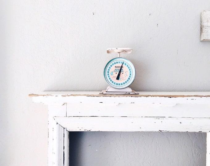 Vintage Baby Scale // Industrial Display