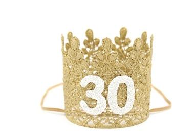 30th birthday crown  40da3f928db1