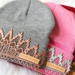 Tiara Beanies || Choose ONE || one size fits most children- adults ||