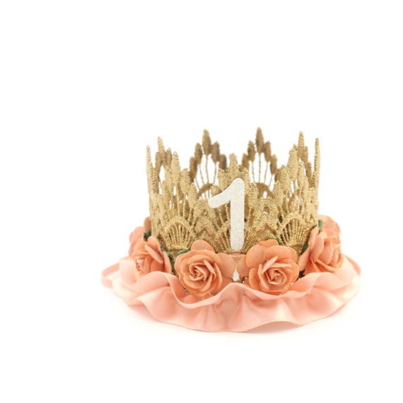 Lace Birthday Crown