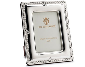 """5""""x 3,5"""" inches Handmade 925 Sterling Silver Photo Picture Frame 7161 9x13 GB new for Wedding gift ,Birtday gift and Anniversary gift"""