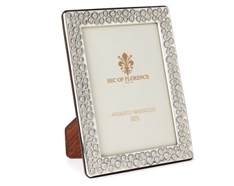 """6""""x 4"""" inches Handmade 925 Sterling Silver Photo Picture Frame 7348 10x15 GB new for Wedding gift ,Birthday gift and Anniversary gift"""
