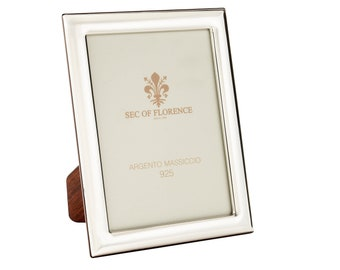 """8""""x 6"""" inches Handmade 925 Sterling Silver Photo Picture Frame 7310 15x20 GB new for Wedding gift ,Birthday gift and Anniversary gift"""