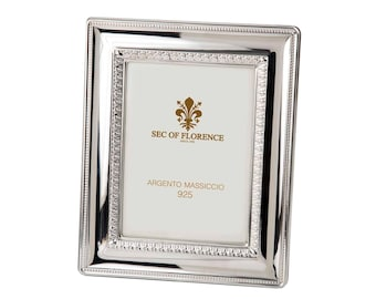"""7""""x 5"""" inches Handmade 925 Sterling Silver Photo Picture Frame 3003 13x18 GB new for Wedding gift ,Birthday gift and Anniversary gift"""