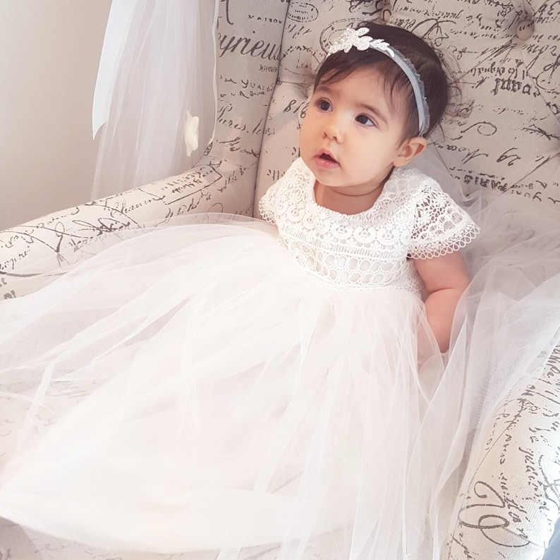 519502330 Harriet baby girl Lace cotton heirloom ivory couture | Etsy
