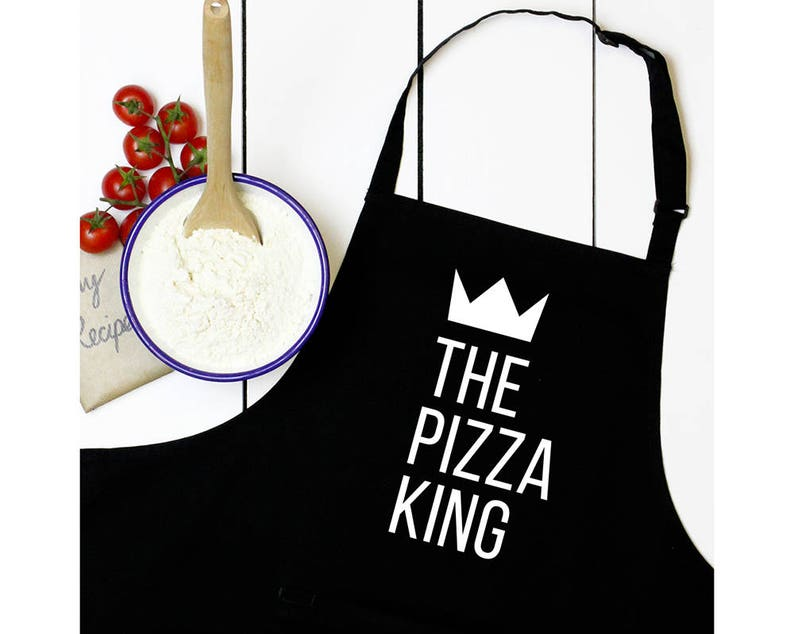 Personalised King or Queen of Foods Apron